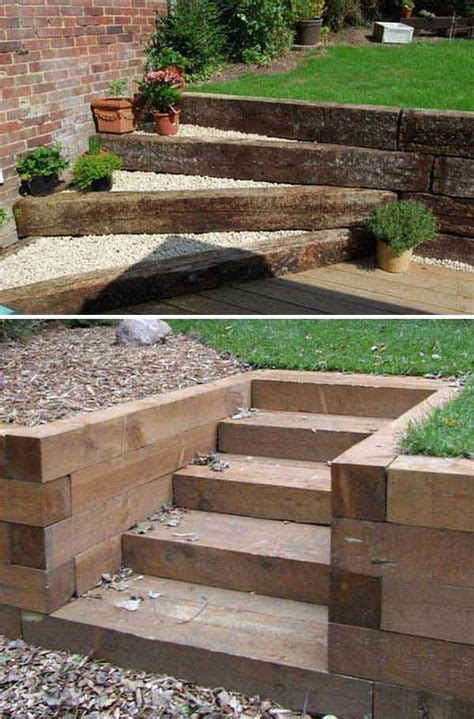 The 25 Best Garden Stairs Ideas On Pinterest Landscape Backyard Steps Ideas