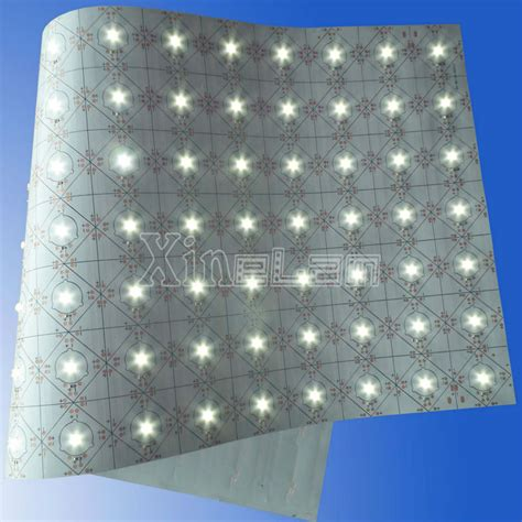 1mm slim dc24v flexible led light sheet from zhongshan