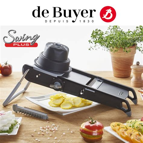 de buyer mandoline swing de buyer la mandoline swing plus culinaris