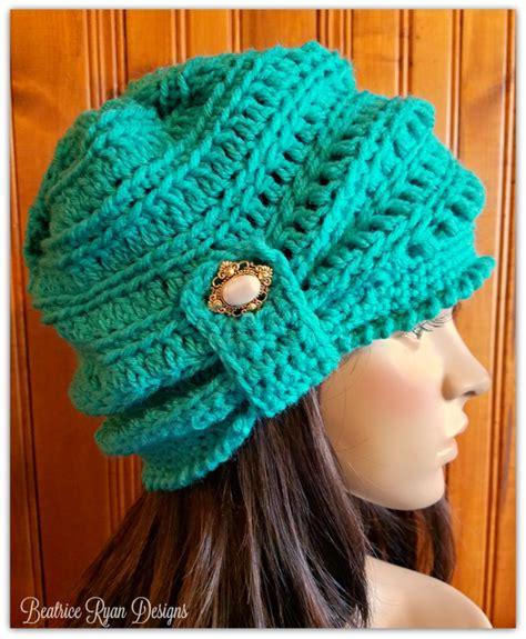 19 cool beanie designs and free hat patterns tip junkie wintertide beanie free crochet pattern