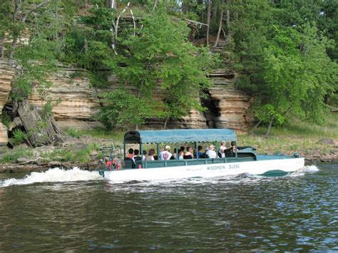 wisconsin dells duck boats panoramio photo of wi dells duck boat