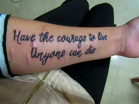 tattoo quotes for cutters when you ask me about my scars tattoo designs