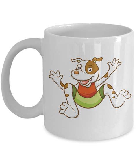 cartoon coffee mug hand painted dog cartoon coffee mug