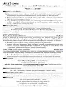 physical therapy resume examples best business template