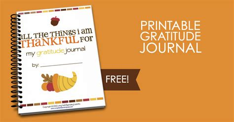free printable gratitude journal all the things i m thankful for free printable gratitude