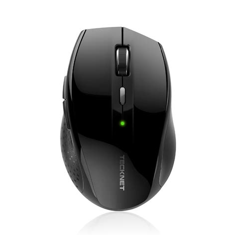 Mouse Usb Model Mobil tecknet alpha ergonomic 2 4g wireless optical mobile mouse with usb nano receiver for laptop pc