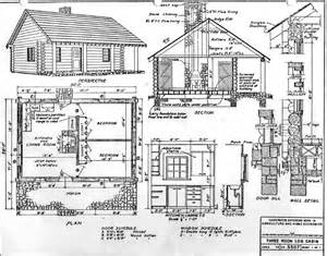 Cabin Blueprints Free Blueprint Quality 3d Models