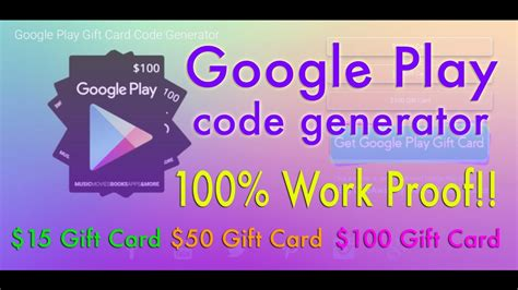 How To Add Google Play Gift Card - how to get free google play gift cards free google play