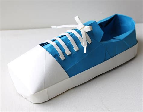 Shoe Origami - if you don t these origami shoes then you probably