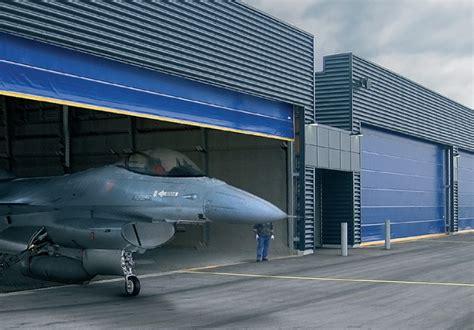 Aircraft Hangars by Hangar Doors Wilson Doors Single Panel Hydraulic
