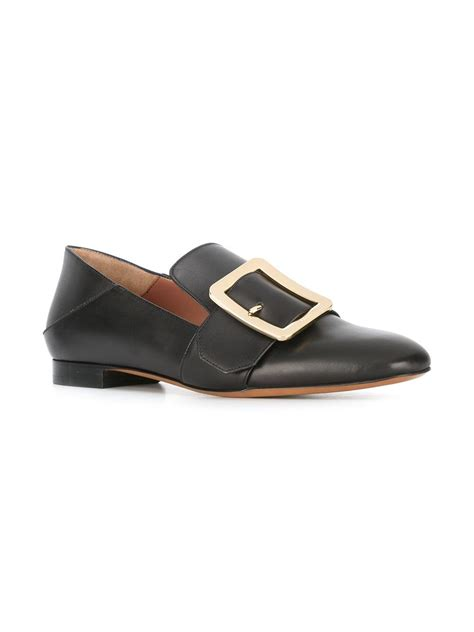 loafers shoes buy bally buckle loafers black shoes bally belt price