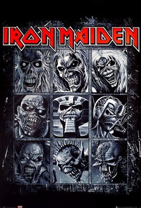 nine eddies, iron maiden poster buy online
