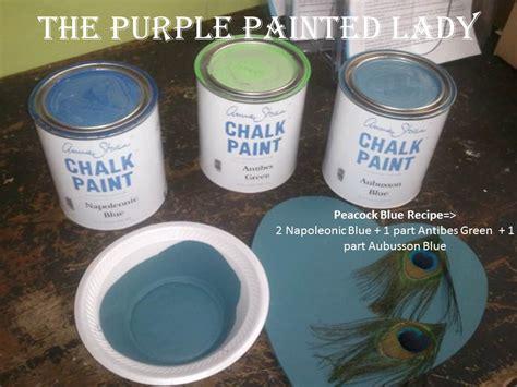 chalk paint blue colors napoleonic blue the purple painted
