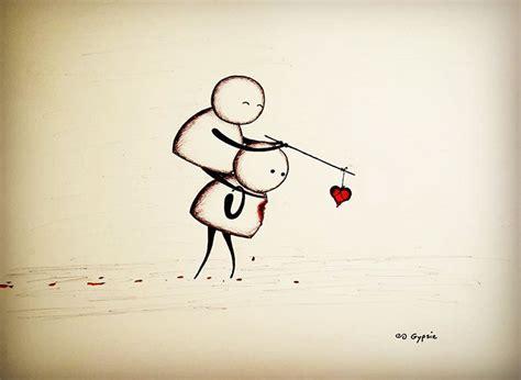 imagenes impactantes tristes 15 dibujos tristes que nos har 225 n reflexionar por gypsie