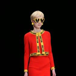 Jeremy scott s junk food couture for moschino lost in internet