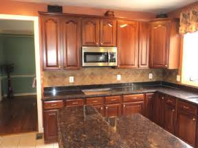 Kitchens With Granite Countertops L Chopra Brown Granite Kitchen Countertop Granix Marble Granite Inc