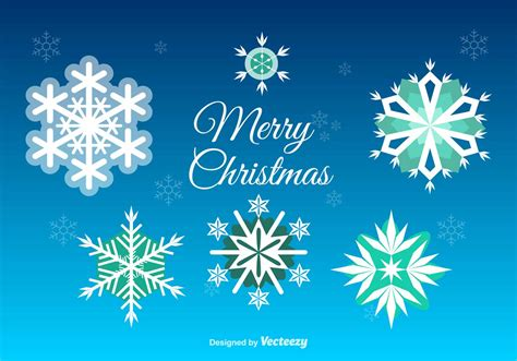 christmas snowflakes decoration download free vector art