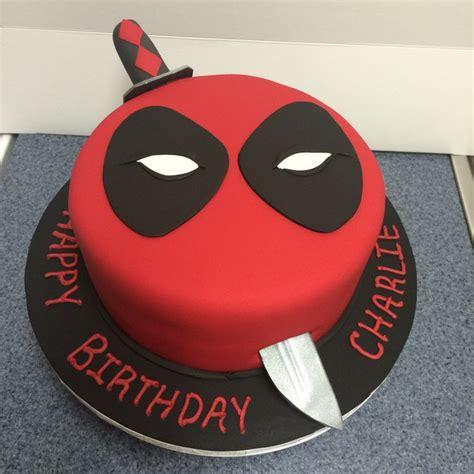 Pool Party Decorations by Deadpool Cake Ideas Deadpool Themed Cakes Crustncakes