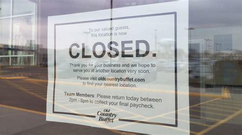 buffet company ovation brands closes 92 units nation s