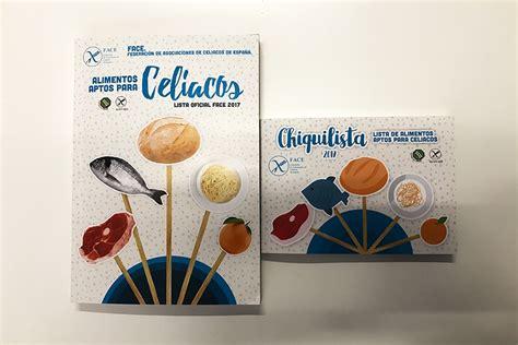 lista de alimentos aptos para celiacos de federaci 243 n de - Lista Alimentos Para Celiacos