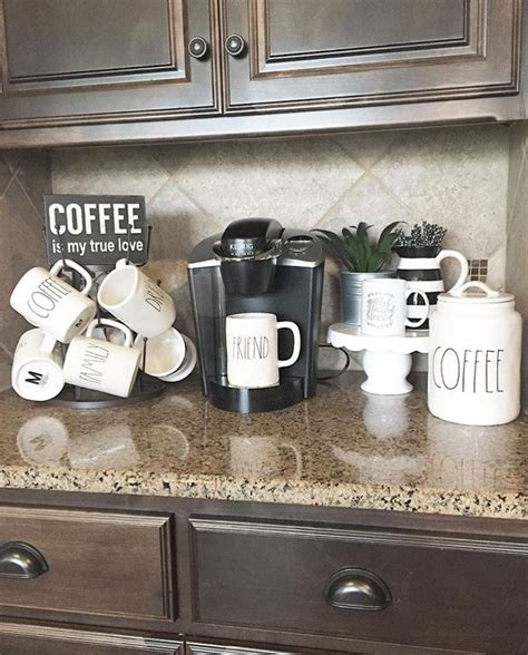 coffee kitchen decor ideas 25 best ideas about home coffee bars on pinterest home