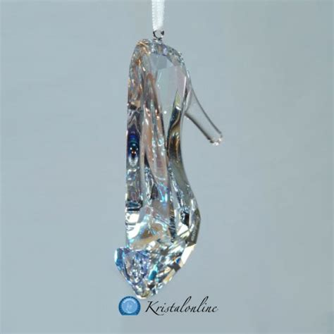 cinderella glass slipper ornament swarovski disney cinderella s slipper ornament 5270155