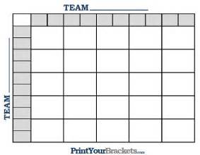 Football Blocks Template by Printable Nfl Football 25 Square Grid Office Pool