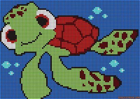 perler bead turtle pattern turtle finding nemo perler bead pattern turtle