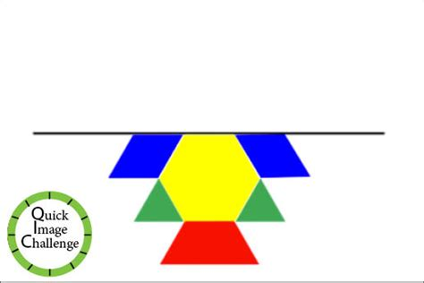 pattern blocks line of symmetry primary math geometry and spatial reasoning the