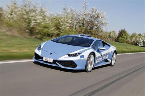 Polizia Lamborghini Lamborghini Donates New Huracan Polizia To Italian Highway