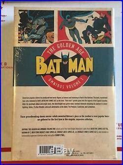 batman the golden age omnibus dc batman the golden age omnibus 1 2 3 detective comics 27 91 1 25 bob kane new dc golden age comics