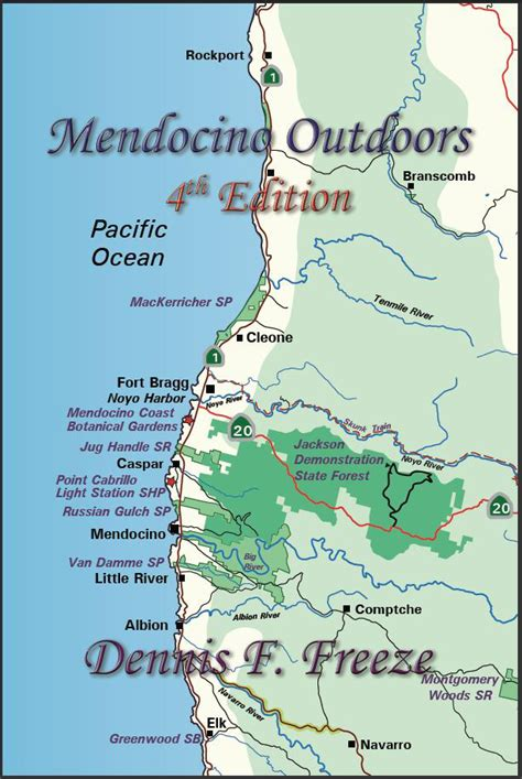 california map mendocino map of mendocino coast ca pictures to pin on