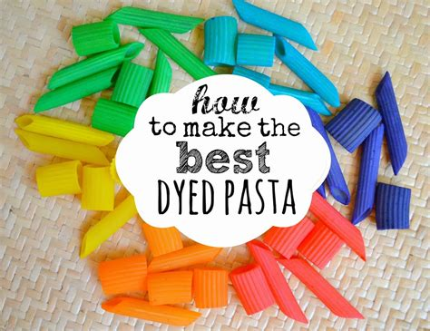 how to color pasta st s day glitter dyed pasta an easy st