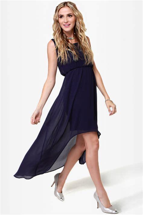 Dress Prema Navy Hs beautiful beaded dress navy blue dress high low dress 60 00