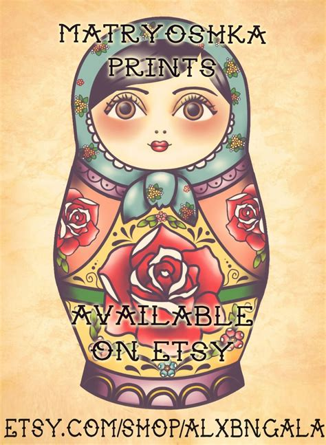 russian nesting doll tattoo russian nesting doll flash ink me baby