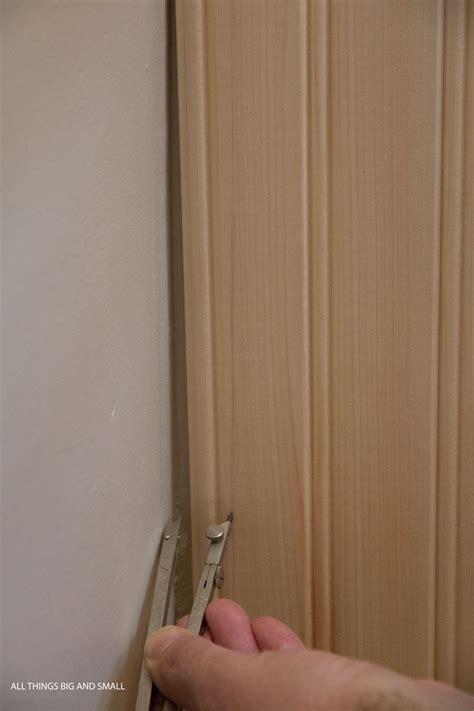 corner bead nails beadboard bathroom how to diy beadboard that looks