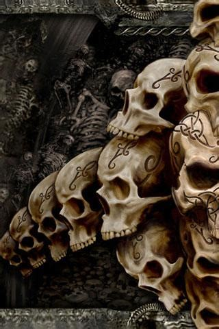 wallpaper android skull skull wallpaper android apps games on brothersoft com