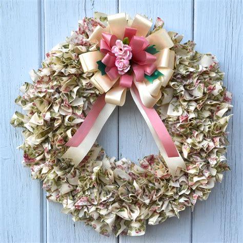 scrap fabric wreath tutorial  bowdabra bow bow