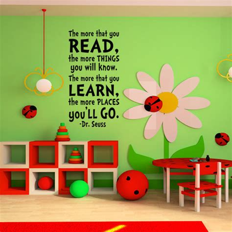 Dr Seuss Wall Decor childrens wall dr seuss childrens from happy wallz dr