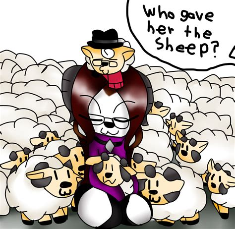 Where Did All The Sheep Come From By Mongoosegoddess On Deviantart
