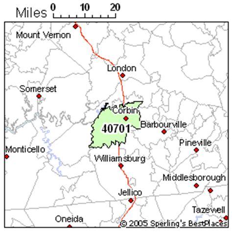 kentucky map corbin best place to live in corbin zip 40701 kentucky