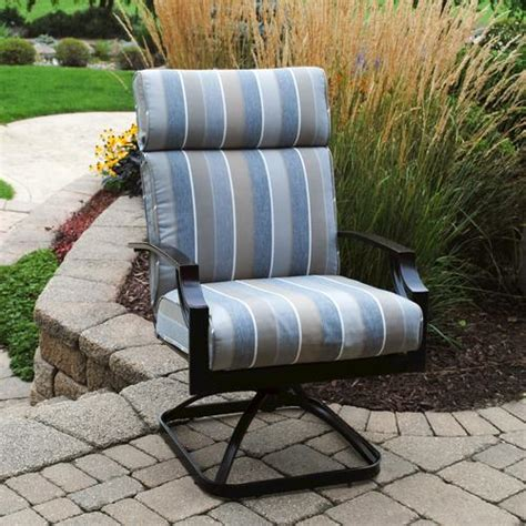 backyard creations pacifica swivel rocker at menards 174
