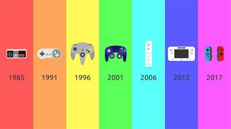 console evolution nintendo controller evolution gaming