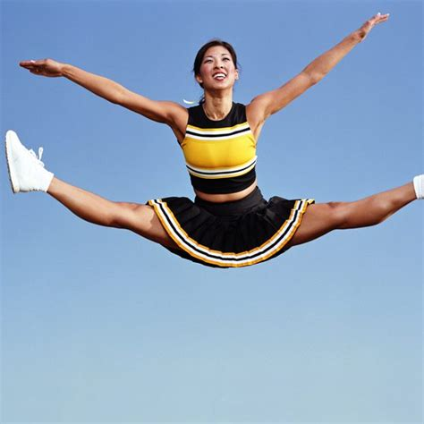 Jumps Slit how to do a split jump in cheerleading healthy living