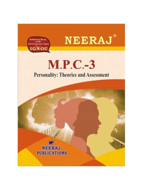 Psychology And Mba Combination by Mpc 3 Personality Theories And Assessment