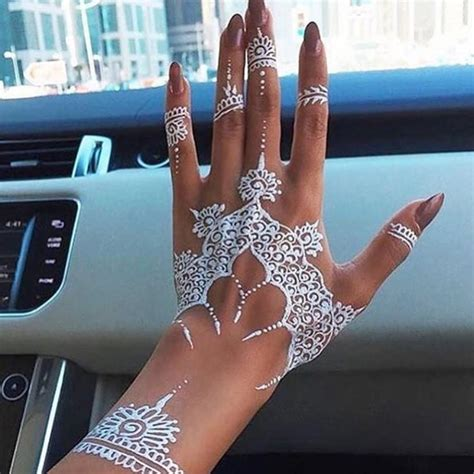 henna tattoos white trending mehndi designs 50 henna ideas for 2018