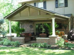 covered patio designs plans