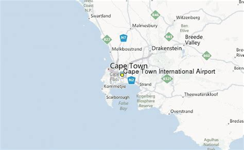 cape town international airport weather station record