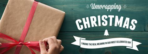 unwrapping christmas church sermon series ideas