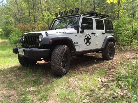 Jeep Wrangler Unlimited Wheel Spacers Jeep Jk Review Diy Installation For 1 5